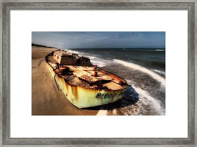 On The Beach II - Outer Banks Framed Print by Dan Carmichael