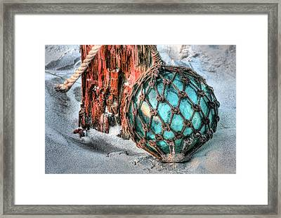 On The Beach Framed Print by JC Findley