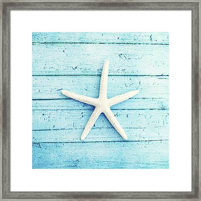 On The Boardwalk Framed Print by Carolyn Cochrane