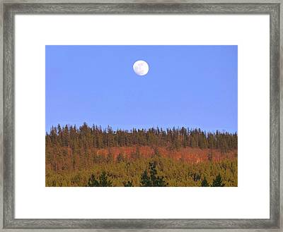 On The Brink Of Full Framed Print by Will Borden