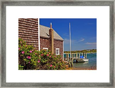 On The Cape Framed Print by Joann Vitali