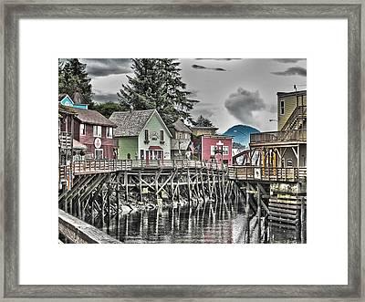 On The Creek. Framed Print by Timothy Latta