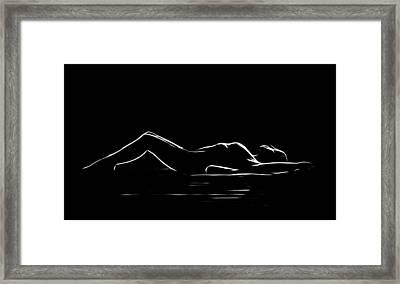 On The Floor Framed Print by Steve K