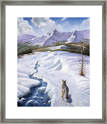 On The Move Framed Print by Gregory Perillo