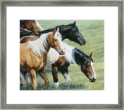On The Move Framed Print by JQ Licensing