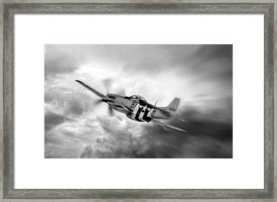 On The Move Framed Print by Peter Chilelli