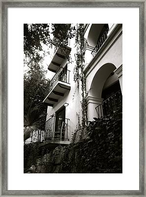 On The River Framed Print by Shawn Marlow