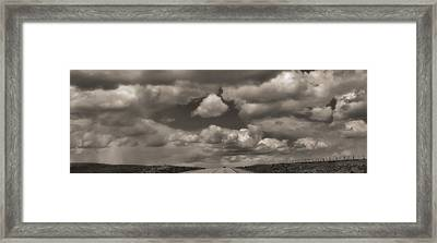 On The Road Again Framed Print by Dan Sproul