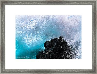 On The Rocks Framed Print by Hastings Franks