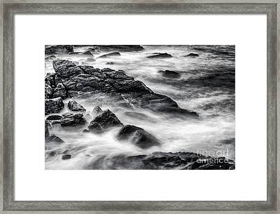On The Rocks Framed Print by Scott Thorp