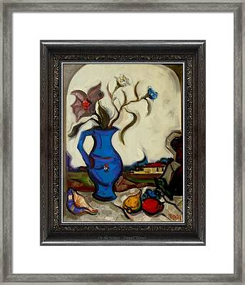 On The Terrace  Framed Print by  Danail Tsonev
