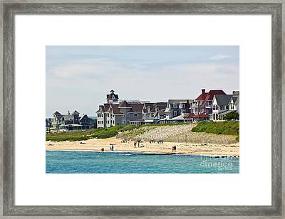 On The Vineyard Framed Print by Michelle Wiarda