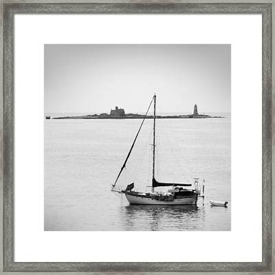 On The Water Framed Print by Mike McGlothlen