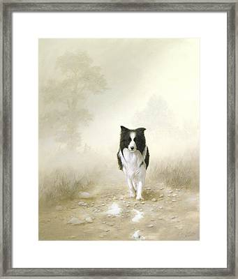 On The Way Home Framed Print by John Silver