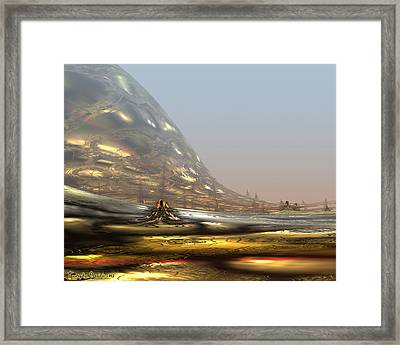 On The Way To The Inner Tibet. 2013 80/64 Cm.  Framed Print by Tautvydas Davainis