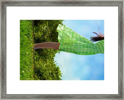 On This Spinning Earth  Framed Print by Laura Fasulo