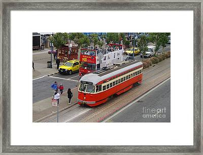 On Tour Framed Print by Jah Mackey