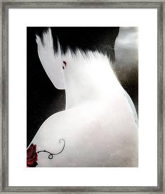 Once Bitten Framed Print by Bob Orsillo