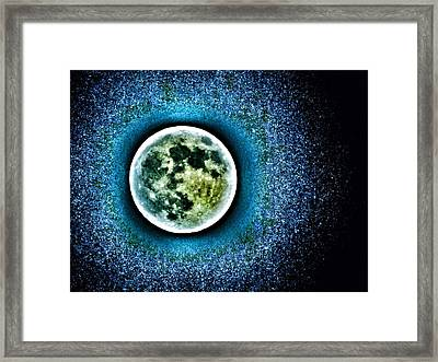 Once In A Blue Moon Framed Print by Marianna Mills