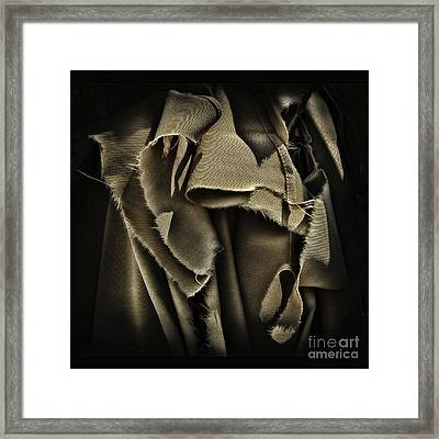 Once In A Torn Dream Framed Print by Walt Foegelle