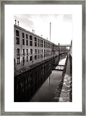 Once Industrial Georgetown Framed Print by Olivier Le Queinec