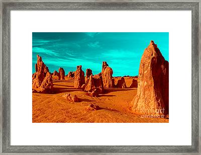 Once Standing Tall Framed Print by Julian Cook