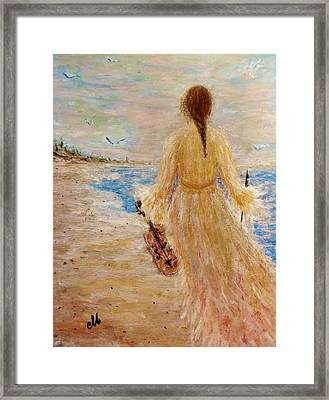 Once Upon A Time... Framed Print by Cristina Mihailescu