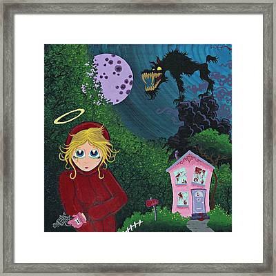 Once Upon A Time Framed Print by Dan Keough