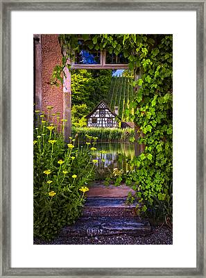 Once Upon A Time Framed Print by Debra and Dave Vanderlaan