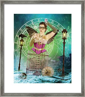Once Upon A Time Framed Print by Juli Scalzi