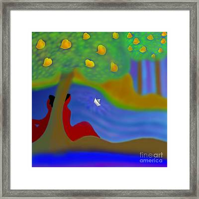 Once Upon A Time Framed Print by Latha Gokuldas Panicker