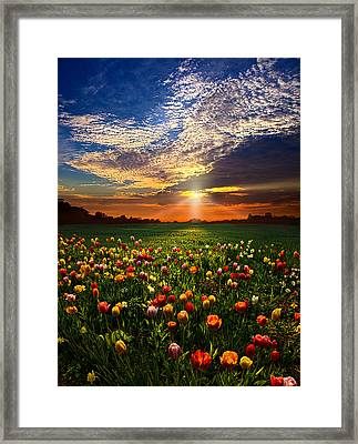 Once Upon A Time Framed Print by Phil Koch