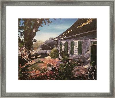 Onderdonk House Framed Print by Victor SOTO