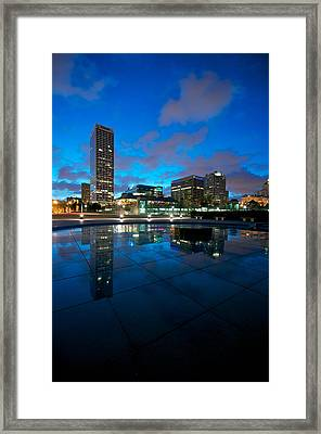 One Above Framed Print by Josh Eral