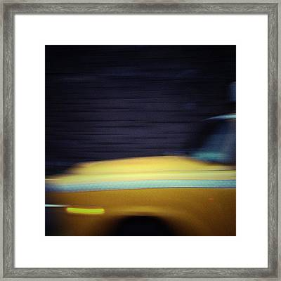 One Belongs To New York Instantly. One Belongs To It As Much In Five Minutes As In Five Years. Framed Print by Natasha Marco