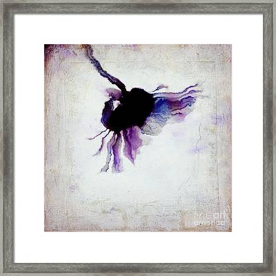 One Daisy - 441t3b Framed Print by Variance Collections