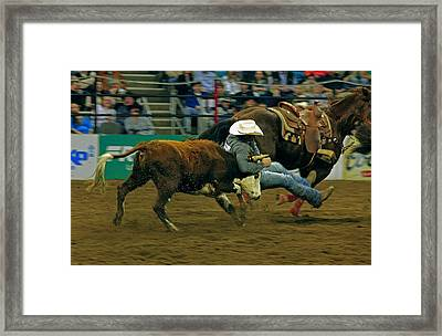 One Helluva Ride Framed Print by Mike Flynn