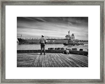One Last Look Framed Print by Bob Orsillo
