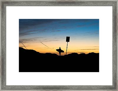 One Last Look Framed Print by John Daly