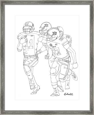 One More Second Framed Print by Calvin Durham