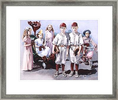 One More Time Framed Print by Mike Hill