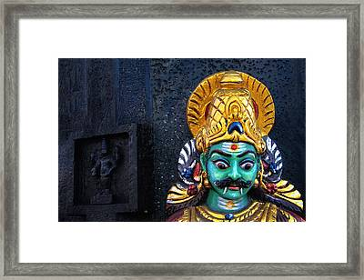One Of Us.. Framed Print by A Rey