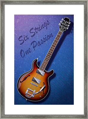 One Passion Framed Print by WB Johnston