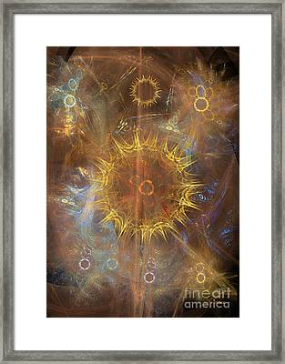 One Ring To Rule Them All Framed Print by John Robert Beck