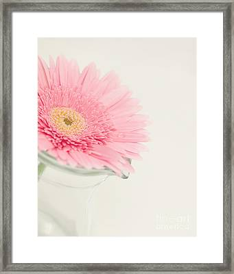 One Single Drop Framed Print by Kay Pickens