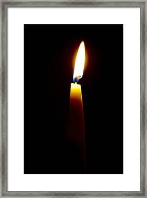 One Small Light Framed Print by Christi Kraft