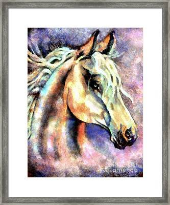 One Spirit Framed Print by Janine Riley