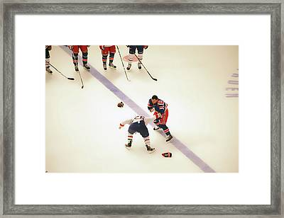 One Two Punch Framed Print by Karol Livote