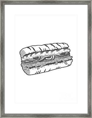 One Veg For Me Please Framed Print by Freshinkstain