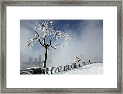 One Visitor Framed Print by Gothicrow Images
